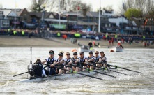 Rowing the Thames
